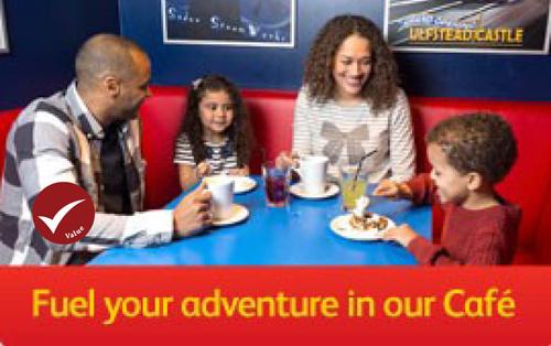 Fuel your adventure in our café