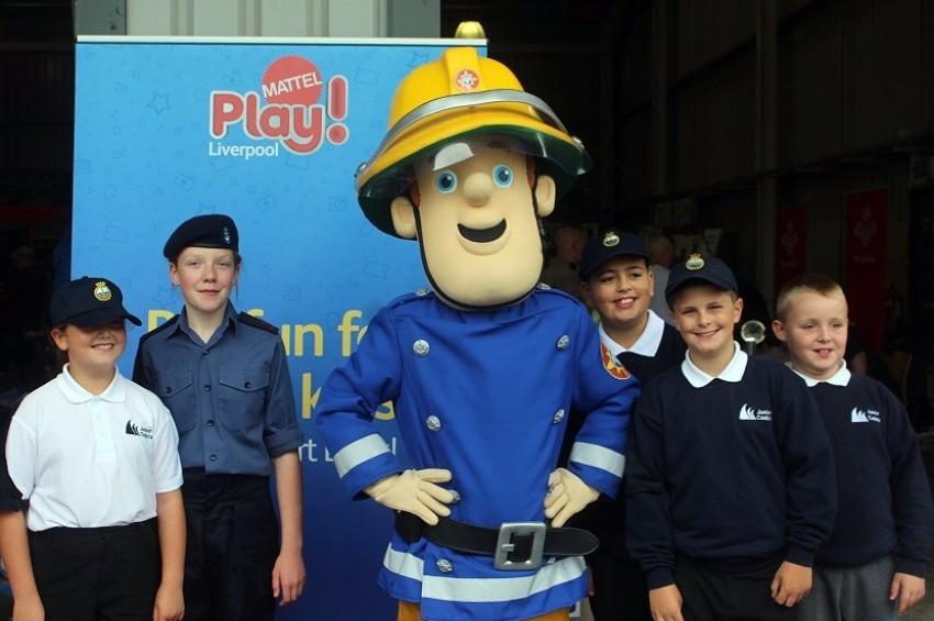 Fireman Sam Visit
