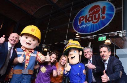 TV presenters open Mattel Play