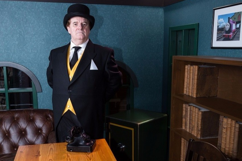 The Fat Controller is Right on Time!
